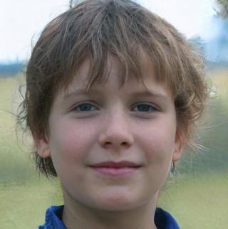 Dieses Foto von einem Jungen hat eine KI generiert