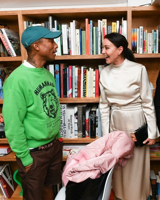 Pharrell and Tamara Mellon