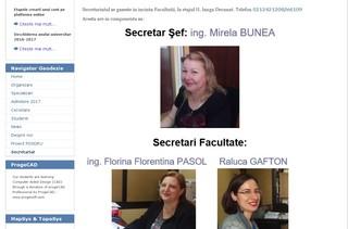 secretara facultate