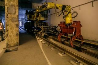 santier tunel metrou