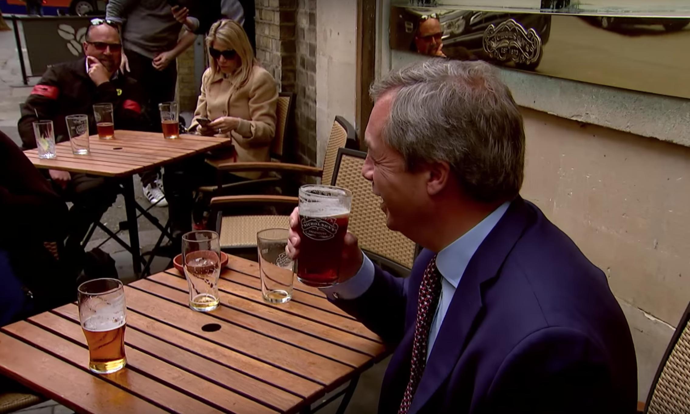Nigel Farage Real Ale