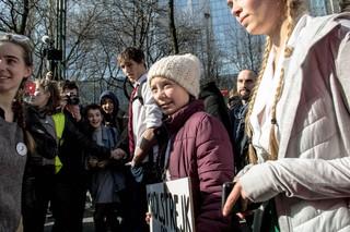 greta-thunberg-in-brussel-klimaatactiviste