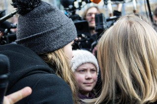 greta-thunberg-in-brussel-klimaat
