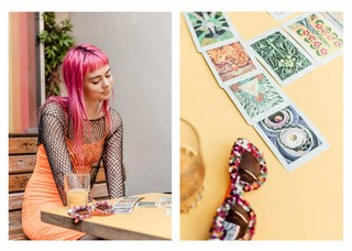 Girli Dalston Superstore Tarot 2019 Noisey Bekky Lonsdale