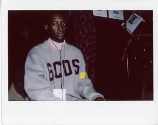 GCDS a/w 19-20 foto backstage