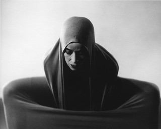 Martha Graham expresses raw emotion in 'Lamentation' in 1935; photo by Barbara Morgan, courtesy of UCLA Library/Getty Images.
