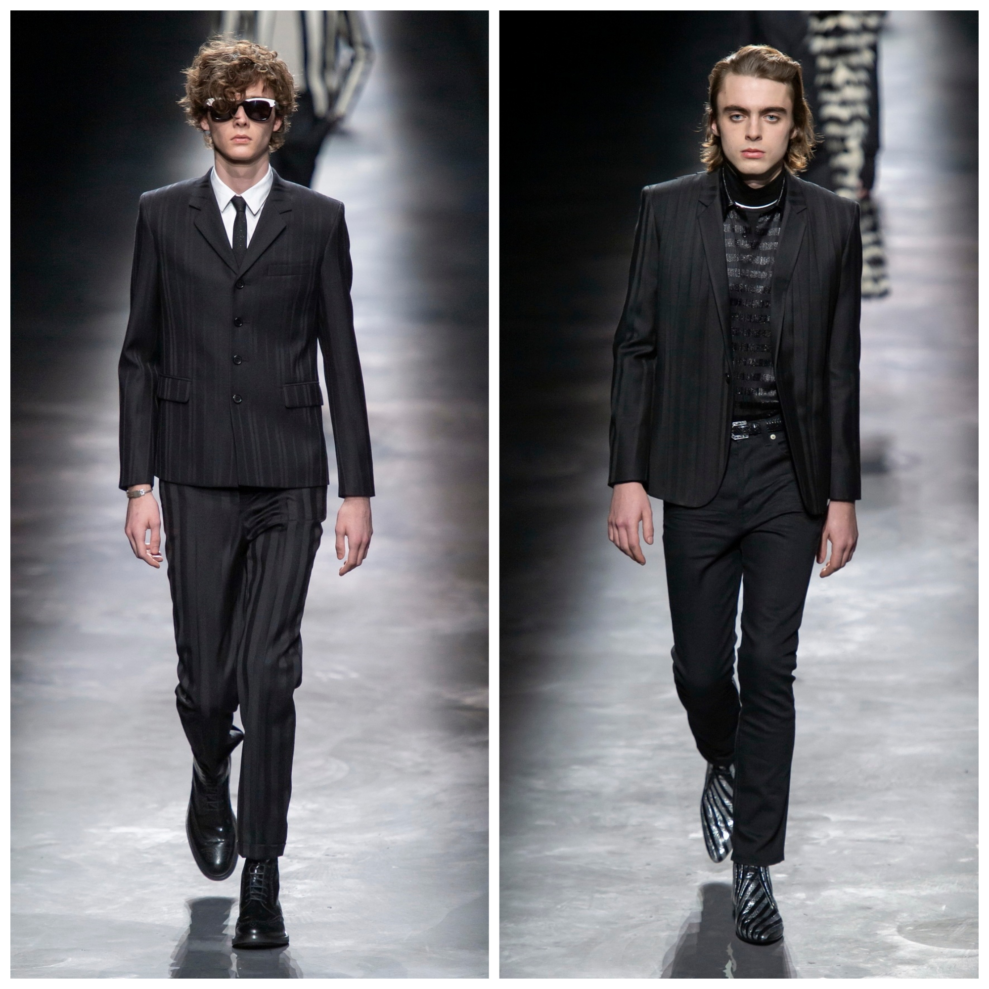 4de0e2129e5 As the big houses battle for fashion supremacy, last night at least, Paris  belonged to Saint Laurent. ysl