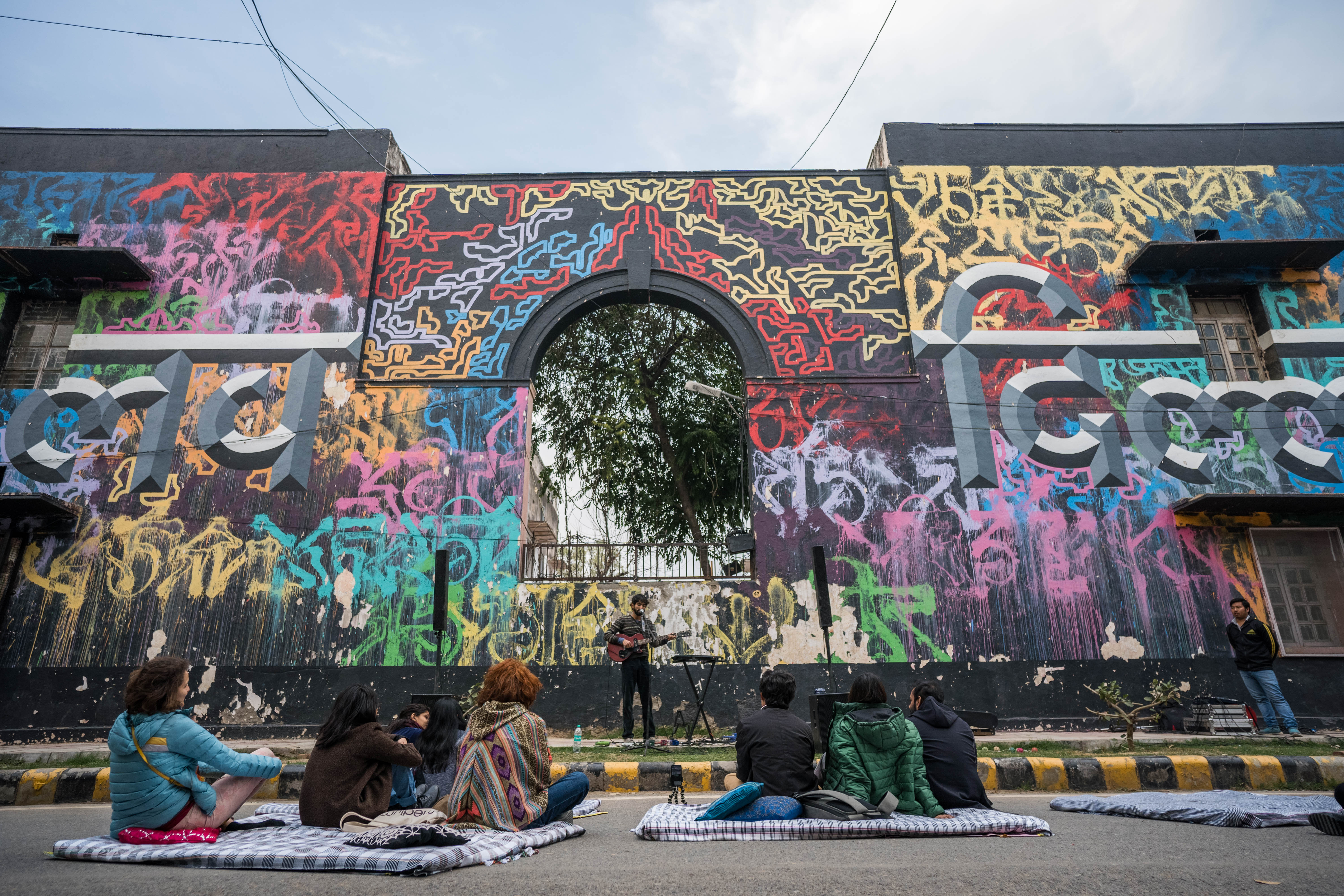 This Public Art Festival Is Reclaiming the Indian Streets - VICE