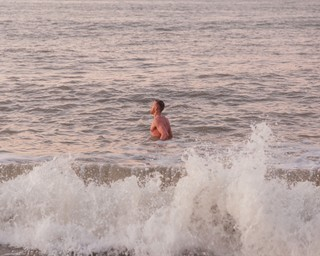 cold swimming