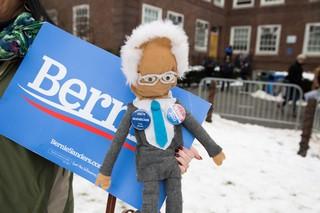 Bernie Sanders doll