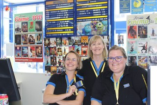 Staff at Australia's last Blockbuster