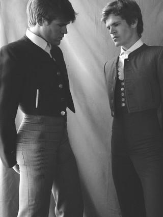 Javier and Borja Jiménez, bullfighters.