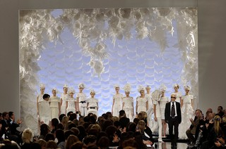 Photography Chris Moore/Catwalking. Chanel Haute Couture spring/summer 2009.