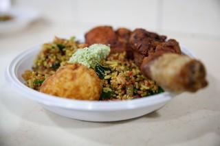 Napoli cibo cingalese Joseph