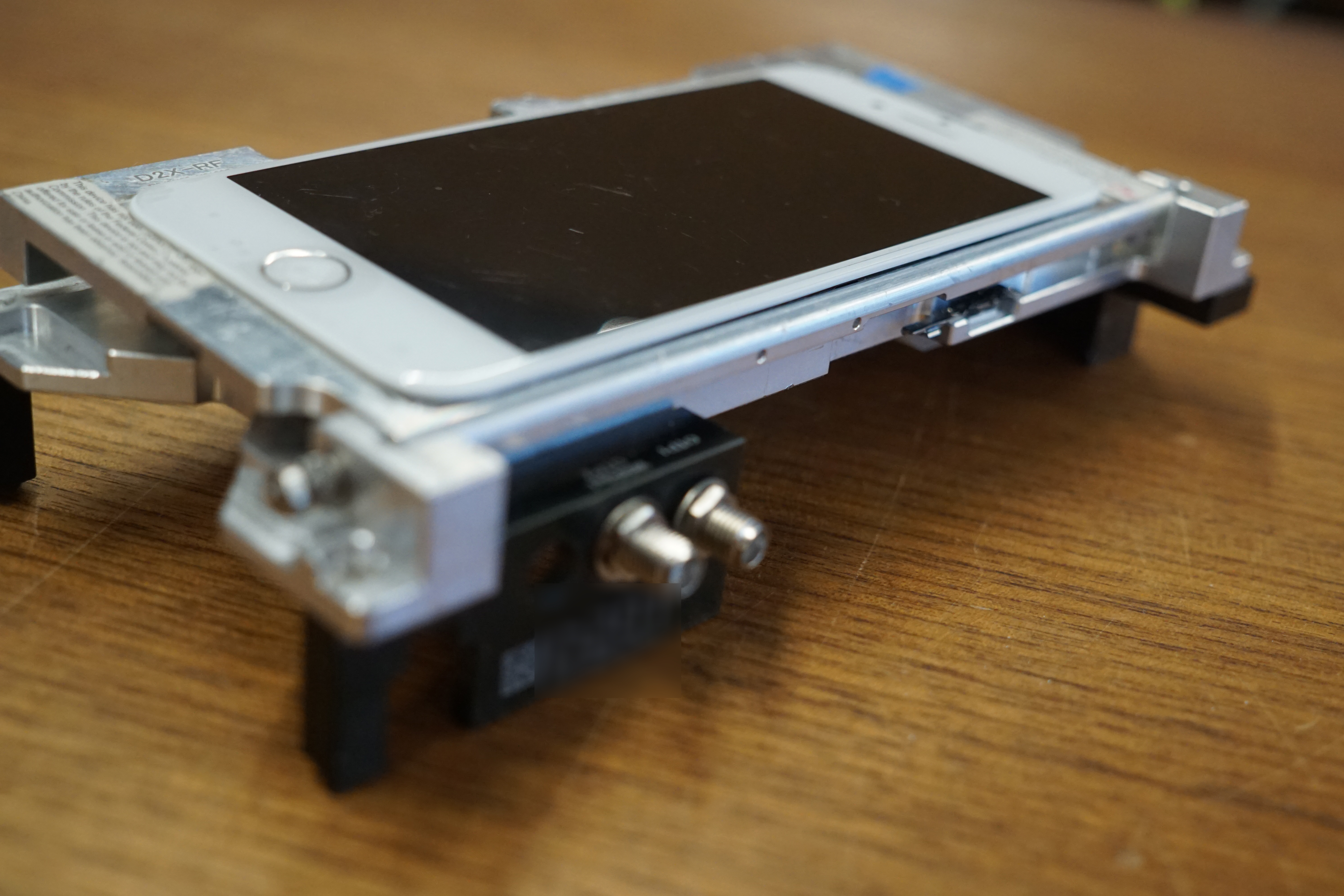 An iPhone dev-fused device