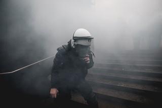 protest-brussel-politie-rook-aurelien-ernst