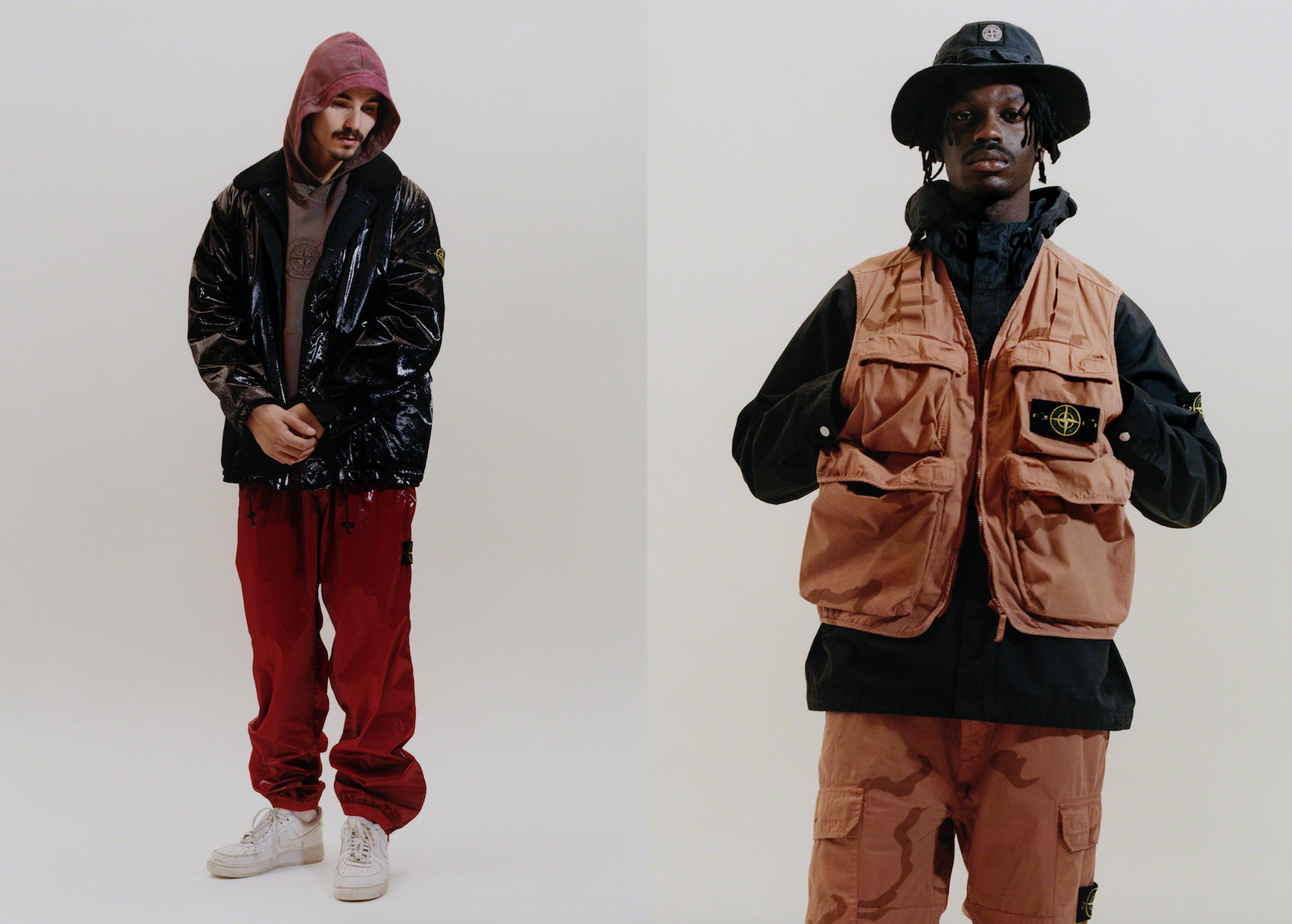 bc2c43a2 Supreme's latest collaboration is with Stone Island