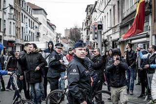 protest-brussel-molenbeek-politie-aurelien-ernst