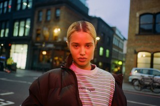 Tommy Genesis pictured in 2019 by Chloe Sheppard for Noisey