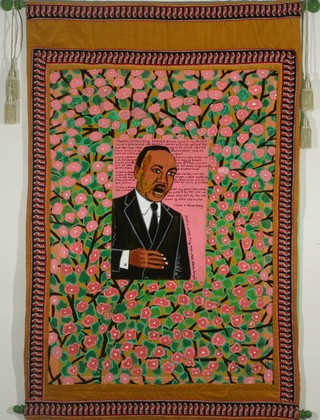 Faith Ringgold, Coming to Jones Road Tanka #3 Martin Luther King, 2010.
