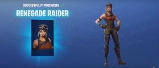 Fortnite Skin Renegade Raider