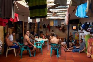 Colombia, Aug. 2011. Establecimiento Carcelario de Reclusion Especial in Sabana Larga