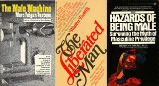 covers of books by men's libbers