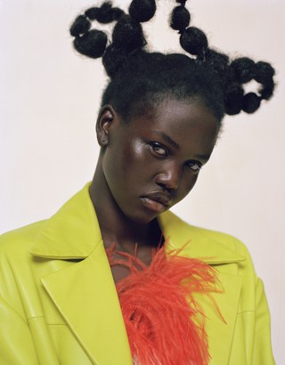 Adut Akech for i-D The Homegrown Issue, no 355, Spring 2019