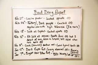 Bad Drug Report at St. Stephen's