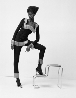 Adut Akech for i-D The Homegrown Issue, no. 355, Spring 2019