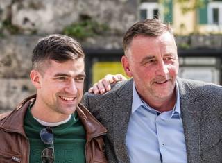 Martin Sellner und Pegida-Gründer Lutz Bachmann
