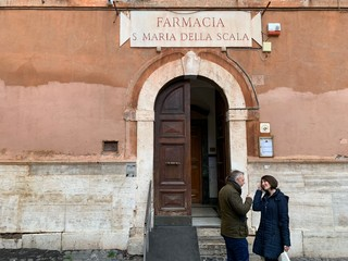 Antica farmacia trastevere roma