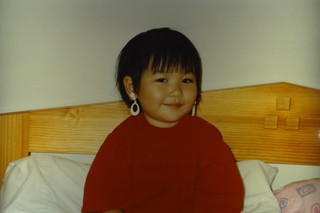 Michelle Zhu as a baby.