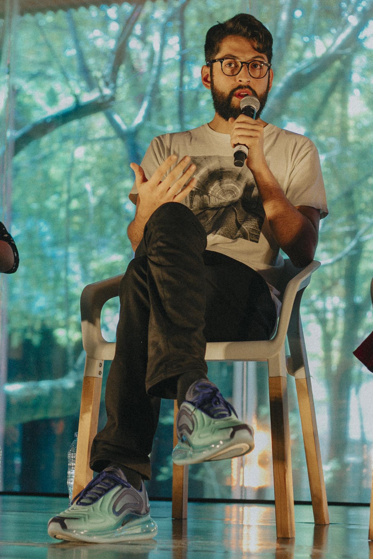 Ricardo González. Foto por Sandra Blow.