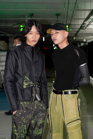 cottweiler seoul fashion week backstage picture