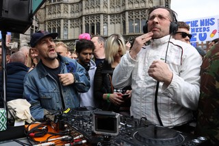 DJs for a People's Vote party