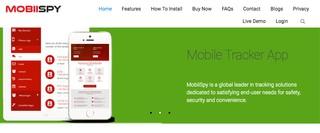 Mobiispy Website