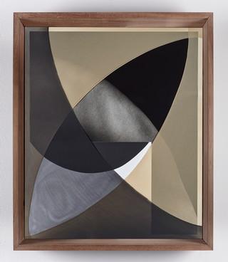 1553620395588-Sheree-Hovsepian-_Navel-Gaze_-2018-Silver-gelatin-photograph-and-photogram-nylon-artist-frame-25-x-21-x-4-inches_-64-x-53-x-10-cm-1
