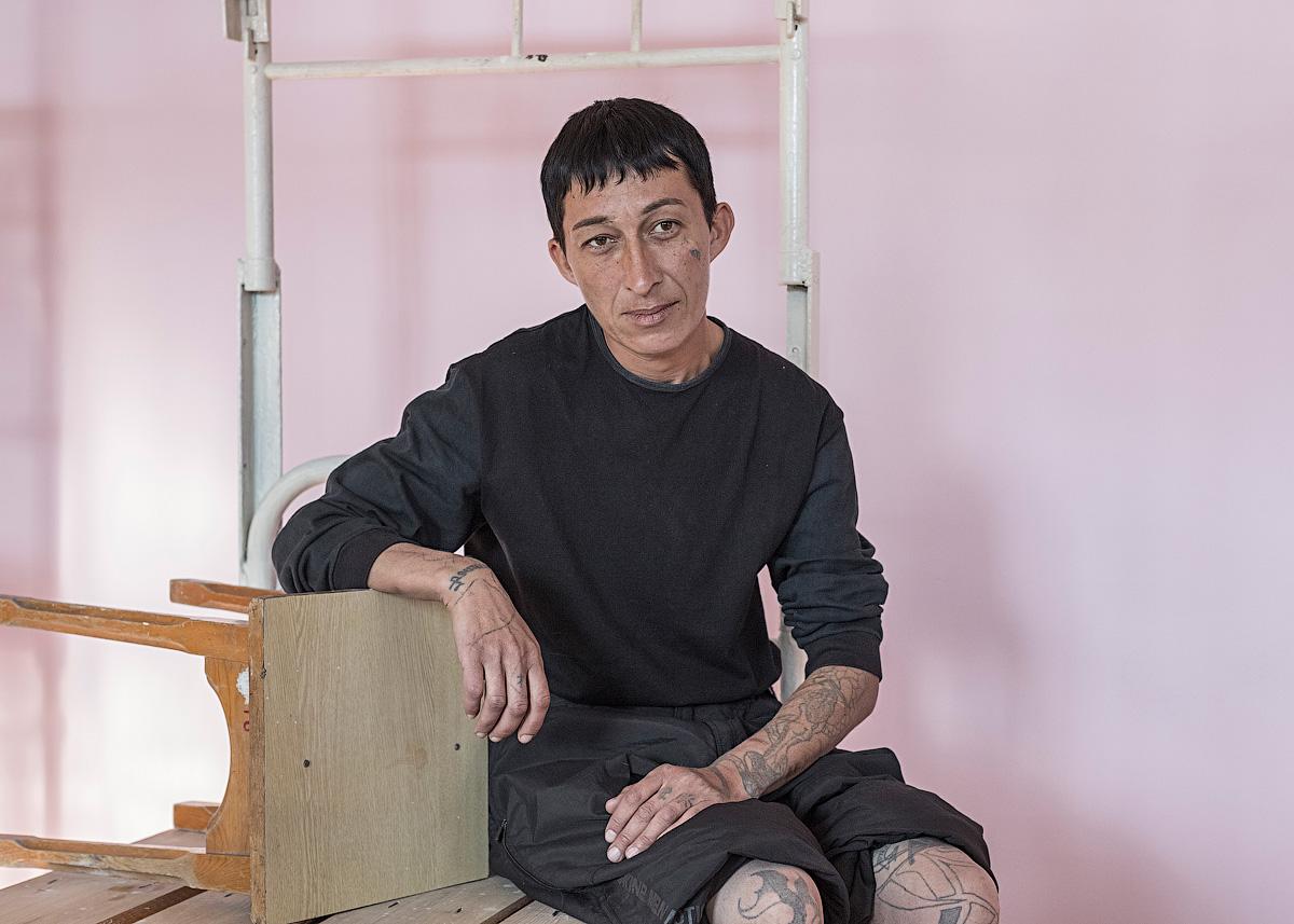 russian woman in prison