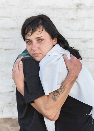 woman in russian prison