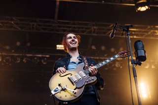 Hozier pictured in 2015 via Noisey