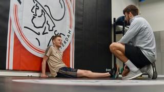 Ajax fitnesscoach personaltrainer Mahdi Nasrallah