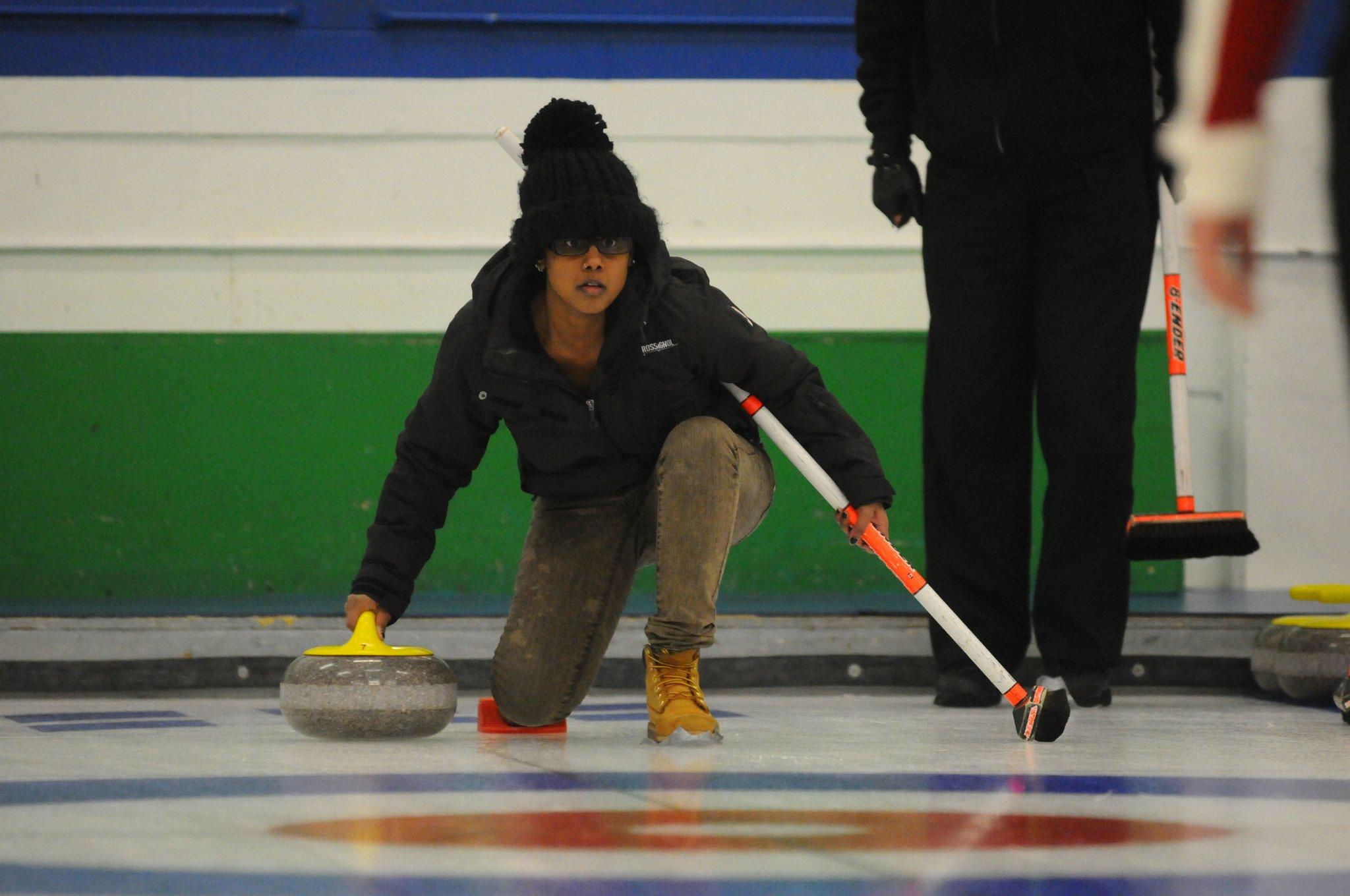 Participei de um torneio de curling canábico