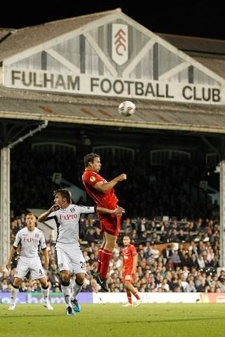 Grygera bij Fulham.