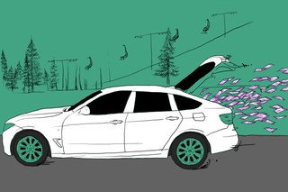 Auto verliest geld