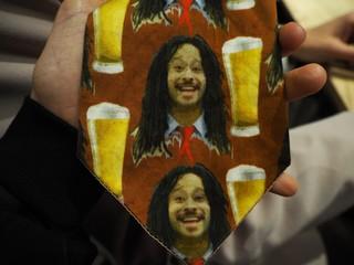 Das met bier en jamaica