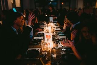 gezelligheid aan tafel