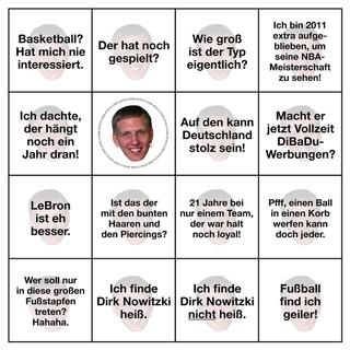 Dirk-Nowitzki-Bingo