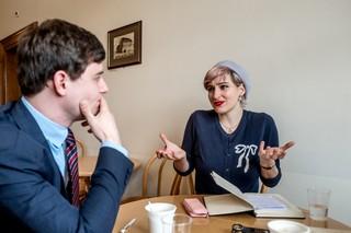Homo Hass Referendum Antirassismusstrafnorm JSVP und EDU Gespräch mti Anna Rosenwasser von LOS