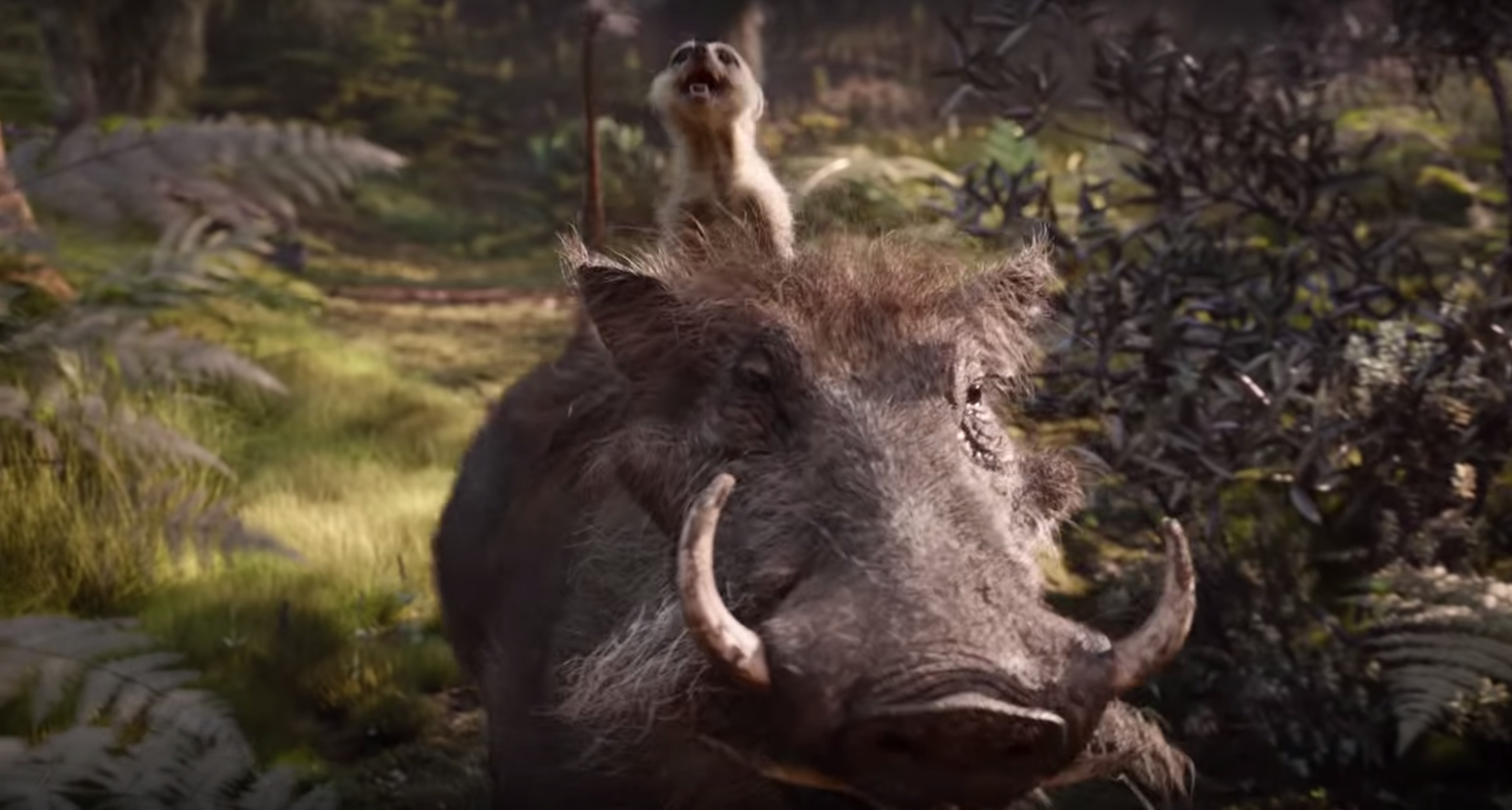 Timon And Pumbaa Are Terrifying In The First Lion King